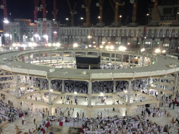 Foto terbaru Masjidil Haram Makkah 2013