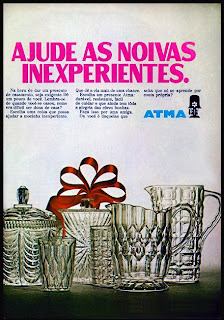 propaganda Atma - 1970. 1970. História da década de 70. Propaganda nos anos 70. Brazil in the 70s. Oswaldo Hernandez.