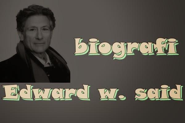 author orientalisme (edward w. said)