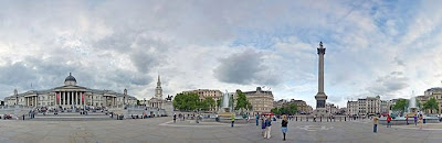 Trafalgar Square London 360 Panorama