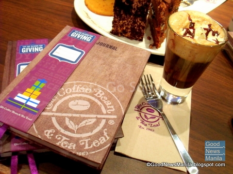 Coffee Bean and Tea Leaf Giving Journal 2013