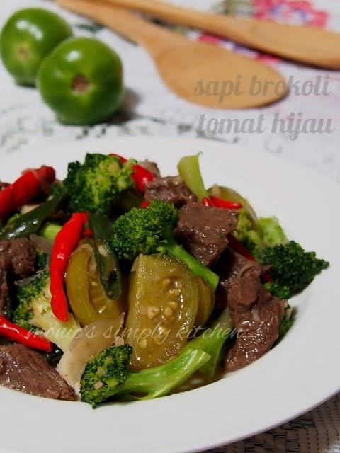 resep daging sapi brokoli