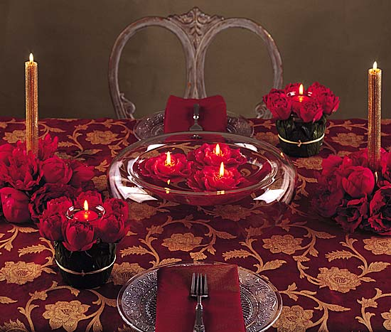 Red wedding decorations style guide