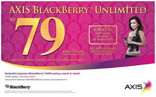 Blackberry unlimited AXIS