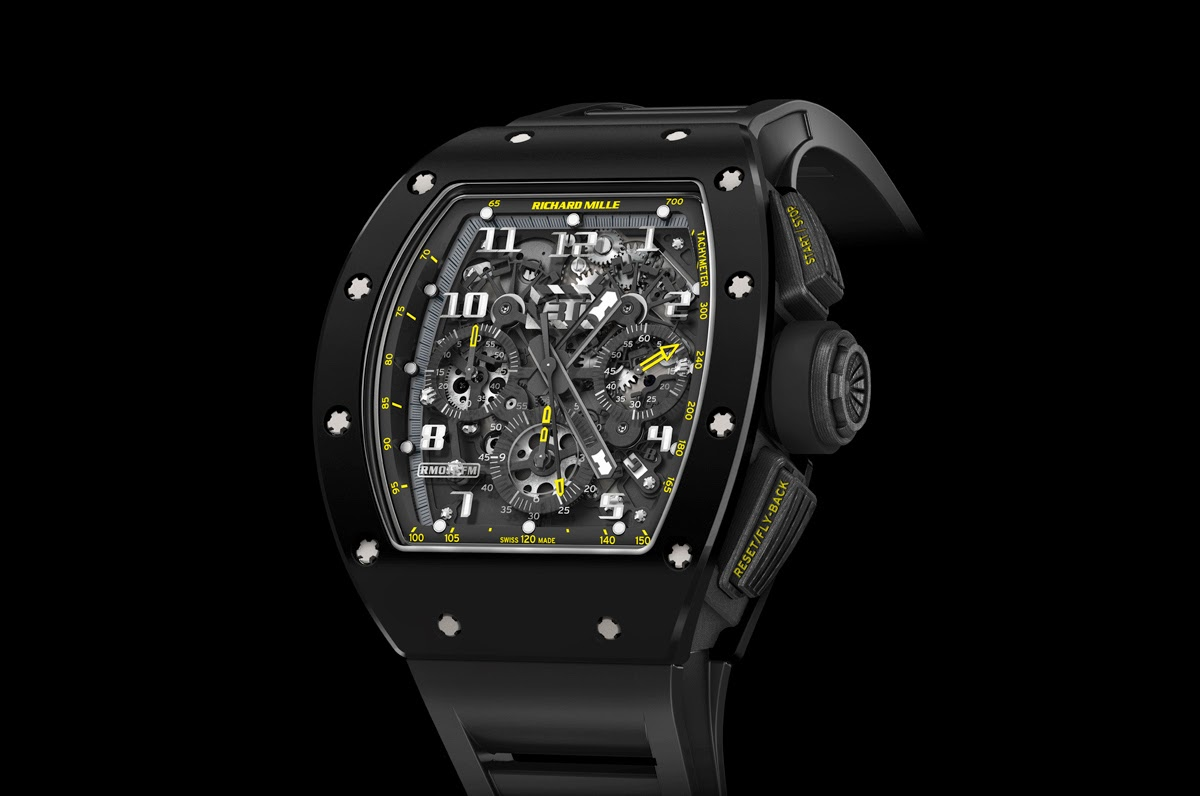 Richard Mille - RM 011 Yellow Flash | Time and Watches