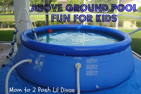 Backyard ocean big pool fun for small spaces - Pools in small spaces set ...