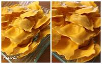 Raviolis de queso a la mantequilla blanca