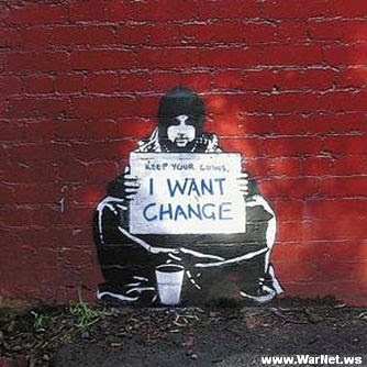 Banksy Graffiti Art Galleries I Want Change