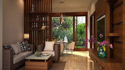 Desain Interior Rumah Minimalis Contoh 01