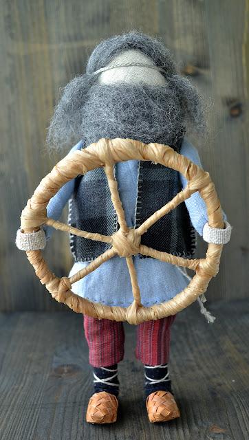 Народная кукла Спиридон Солцеворот