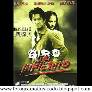 Giro al Infierno U Turn Sean Penn Jennifer Lopez Nick Nolte Movie Pelicula