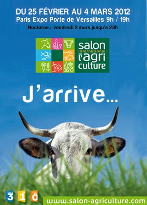 Invitation salon de l 39 agriculture et b b grandit en - Salon de l agriculture invitation gratuite ...