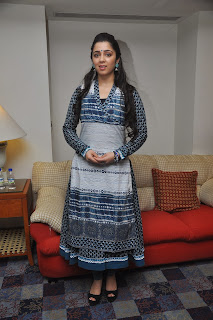 Actress Charmee Kaur Pictures in Salwar Kameez at South Scope Calendar 2014 Launch  0011.jpg
