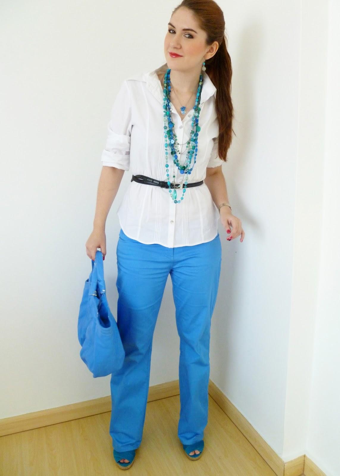 Blue Pants Outfit
