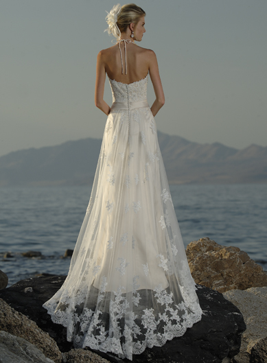 Pictures beach wedding dresses