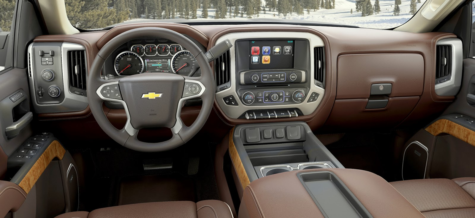 2014 Chevrolet Silverado High Country Dash Photo 15