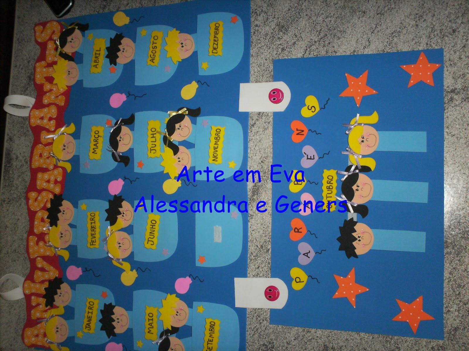 Cartaz De Aniversariantes Para Sala De Aula