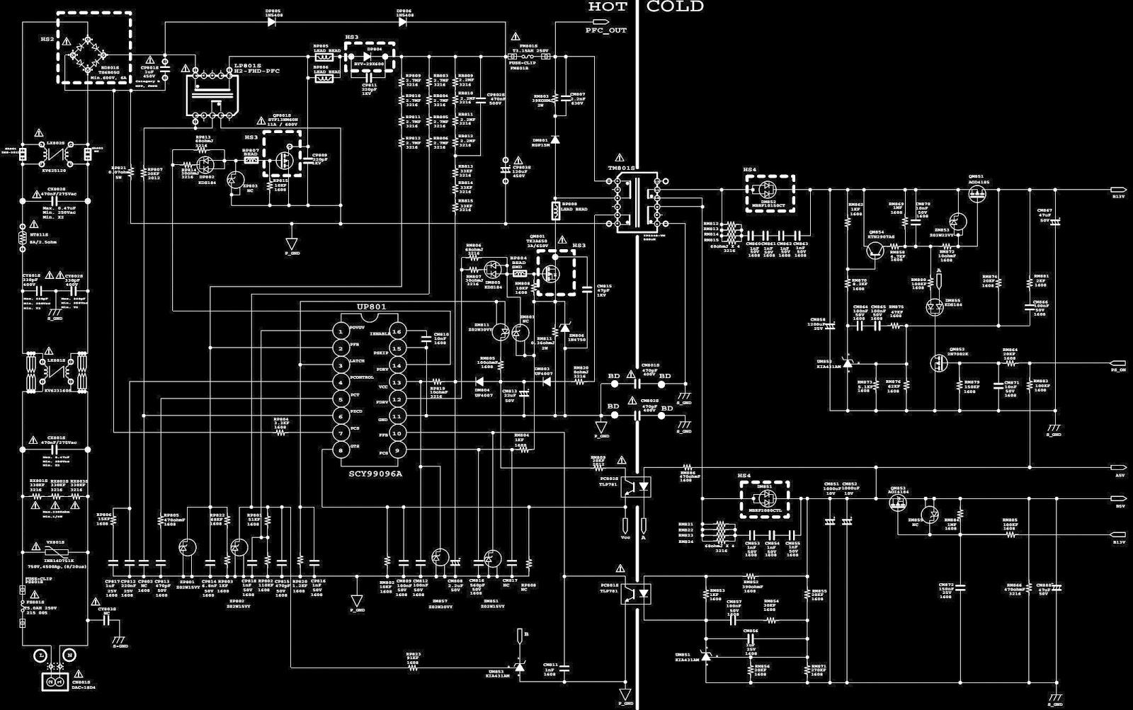 samsung bn44-00439a - smps schematic