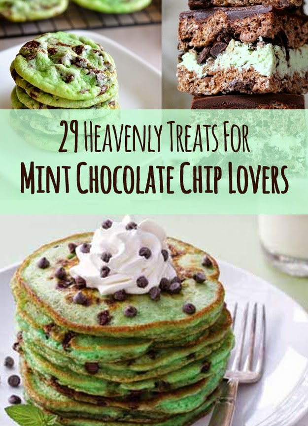 29 Heavenly Treats For Mint Chocolate Chip Lovers