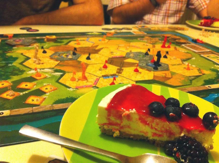 Tikal 2 con cheesecake