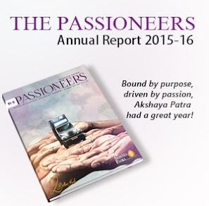 Akshaya Patra Annual Report 2015-16