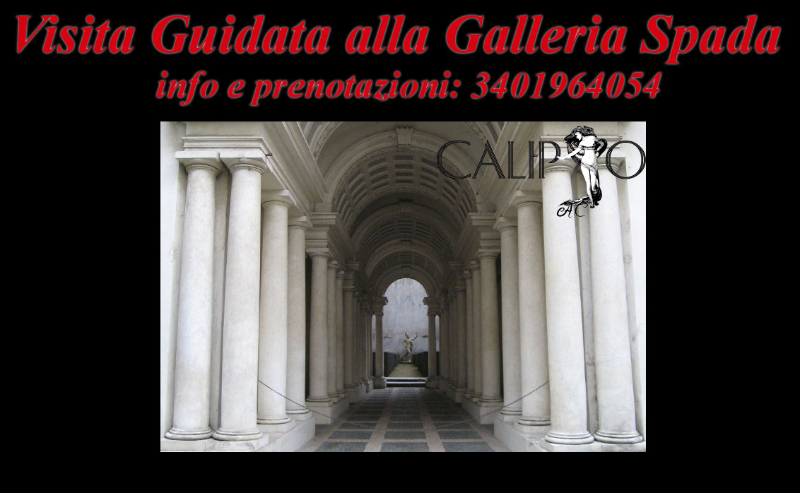 Galleria Spada e la Prospettiva del Borromini