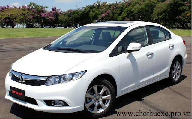 Cho thuê xe 4 chỗ Honda Civic chất lượng