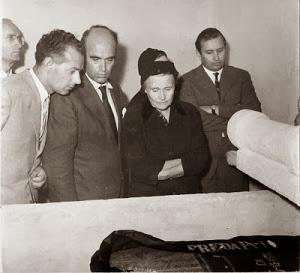 30 AGOSTO 1957-PREDAPPIO CRIPTA MUSSOLINI