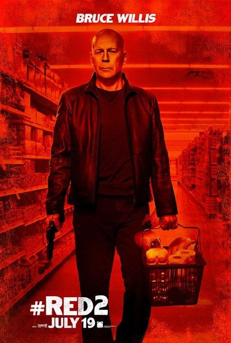 RED 2: posters individuales