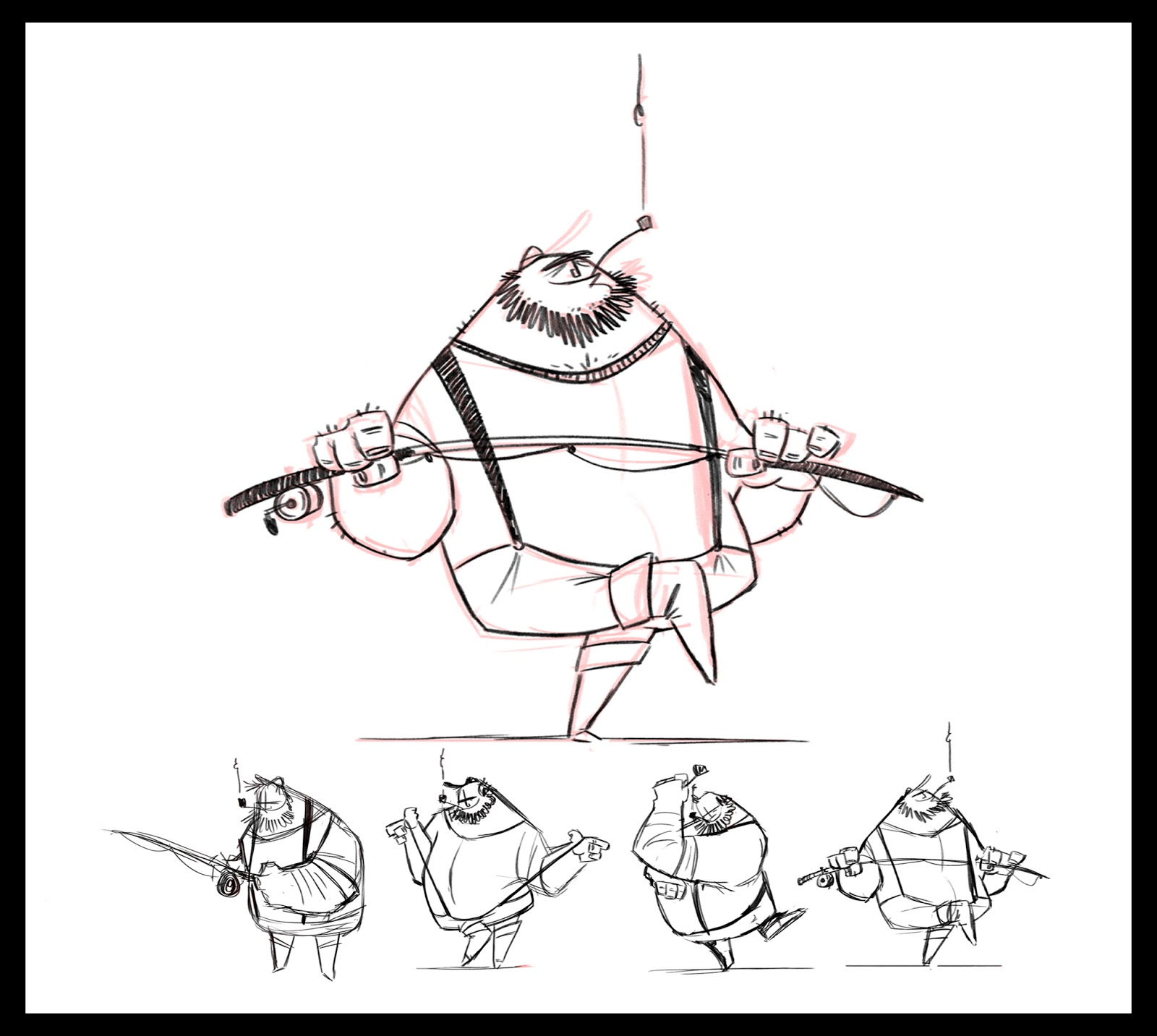 Character Design For Animation Class With Nate Wragg : Gillianimation nate wragg s character design for production