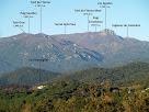 Panoràmica del Montseny amb el Turó de l'Home i les Agudes