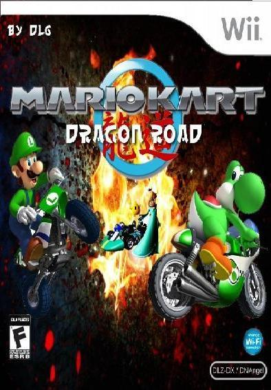 Wii] Mario Kart – Dragon Road [PAL][PARCHEADO][CUSTOM]