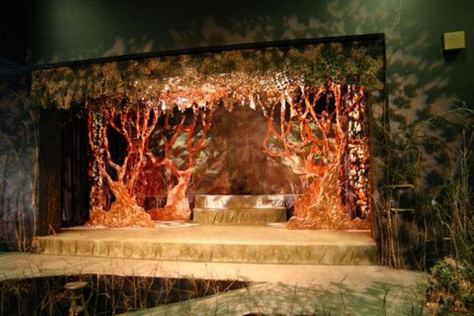 Lance Cardinal Creative Blog: Into the Woods - Set Design ...