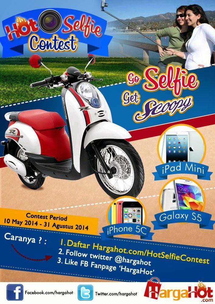 Kontes Selfie Berhadiah Motor, iPad, iPhone & SAMSUNG Galaxy S5