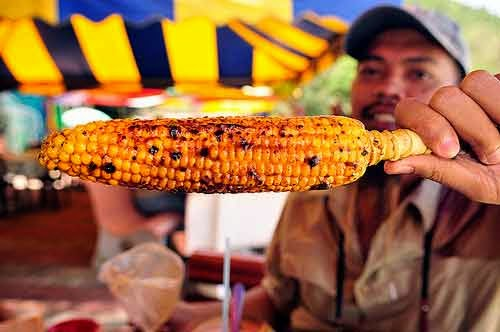 Wisata kuliner malang Jagung Bakar