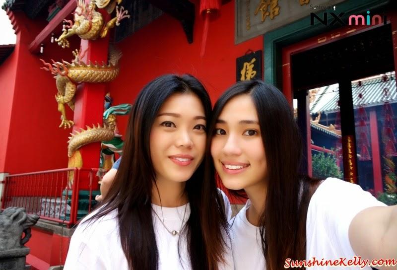Samsung NX Mini Smart Camera, Photo Marathon Challenge, selfie, kuan ti temple, petaling street, travel, tourist, malaysia historical building