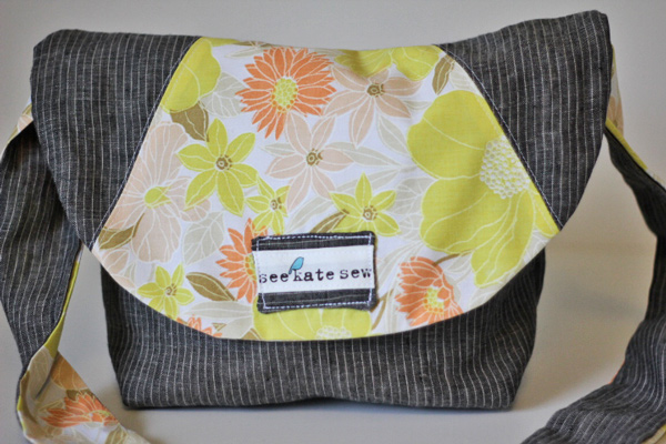 linen satchel tutorial - see kate sew