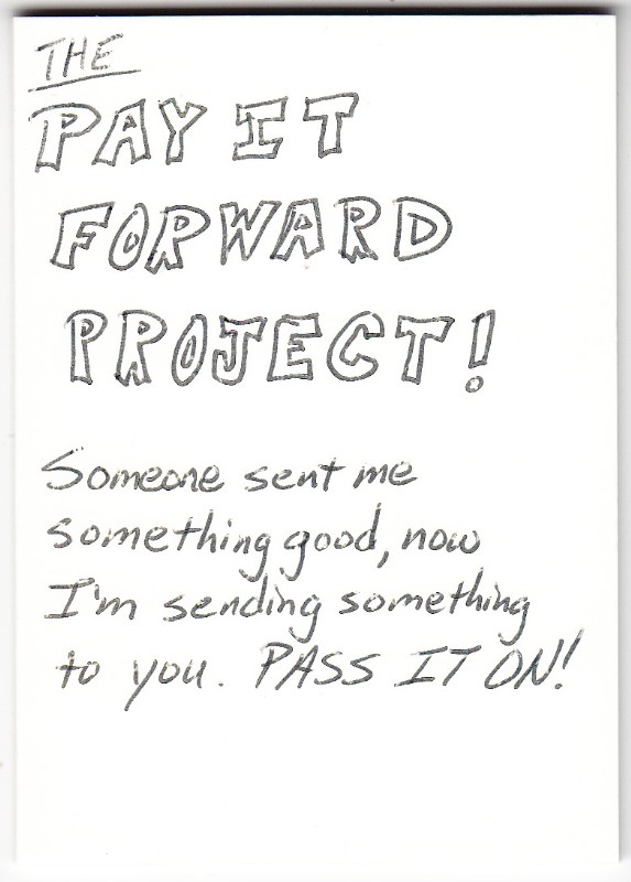 Pay it forward scholarship essay