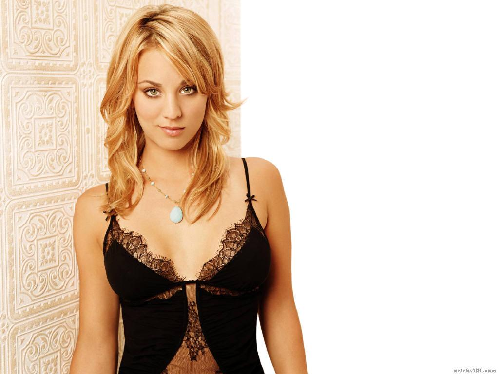 kaley cuoco sexy girl wallpapers 32165