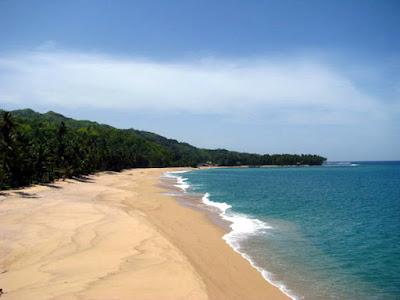 Pantai Legon Pari, Pantai Sawarna