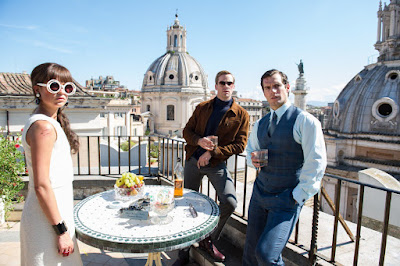 Alicia Vikander, Armie Hammer, and Henry Cavill in The Man From UNCLE (2015)