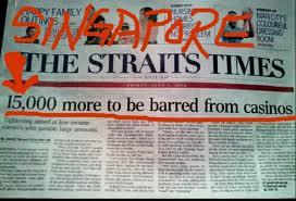 Gambling ban singapore