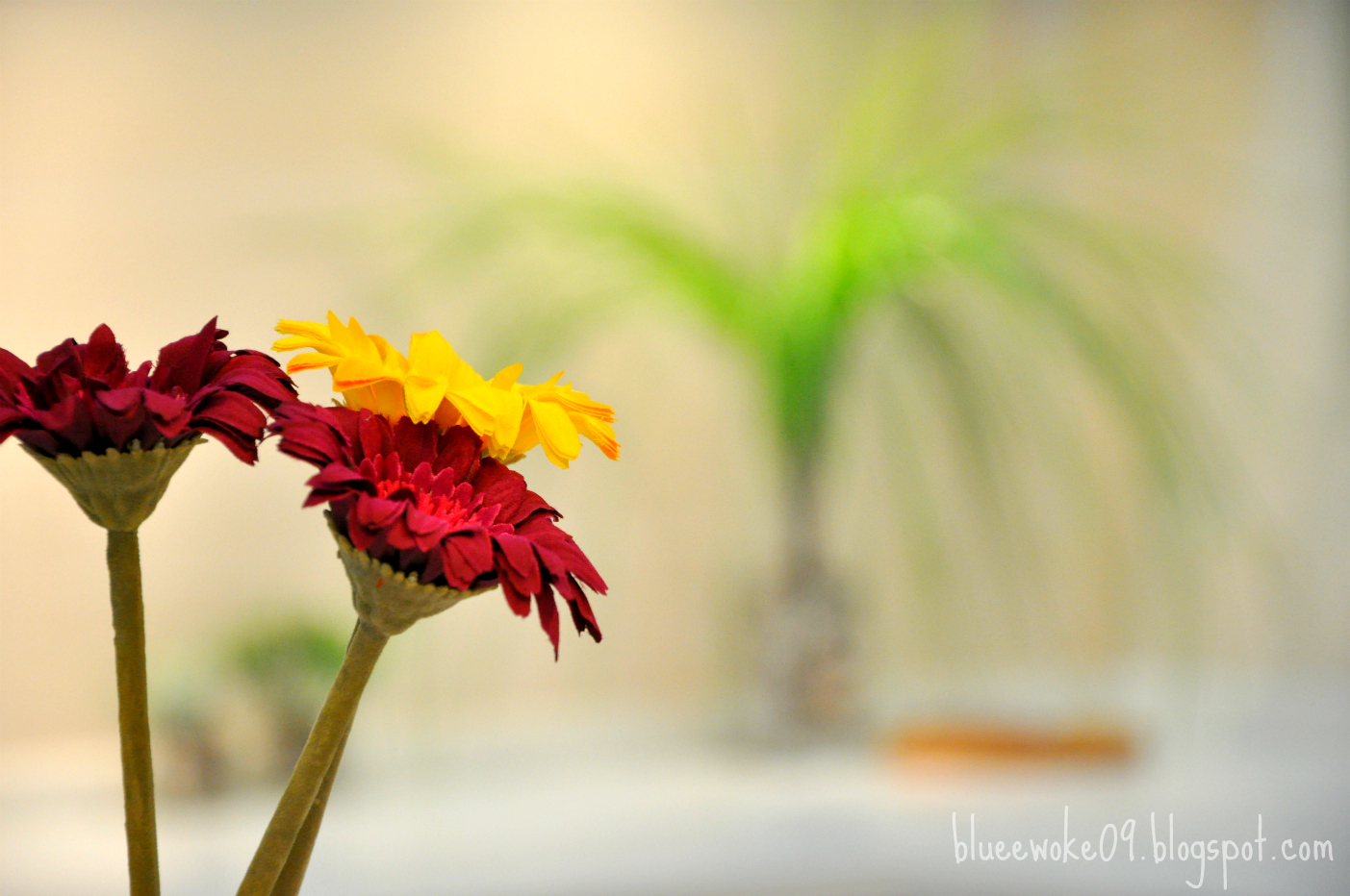 Artificial flowers yang didatangkan khas dari Ikea. Murahmurah saja