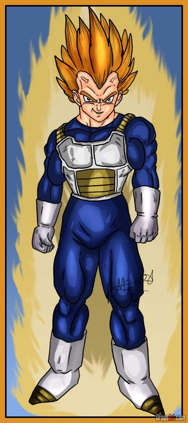 DRAGON BALL Z WALLPAPERS: vegeta super saiyan 2