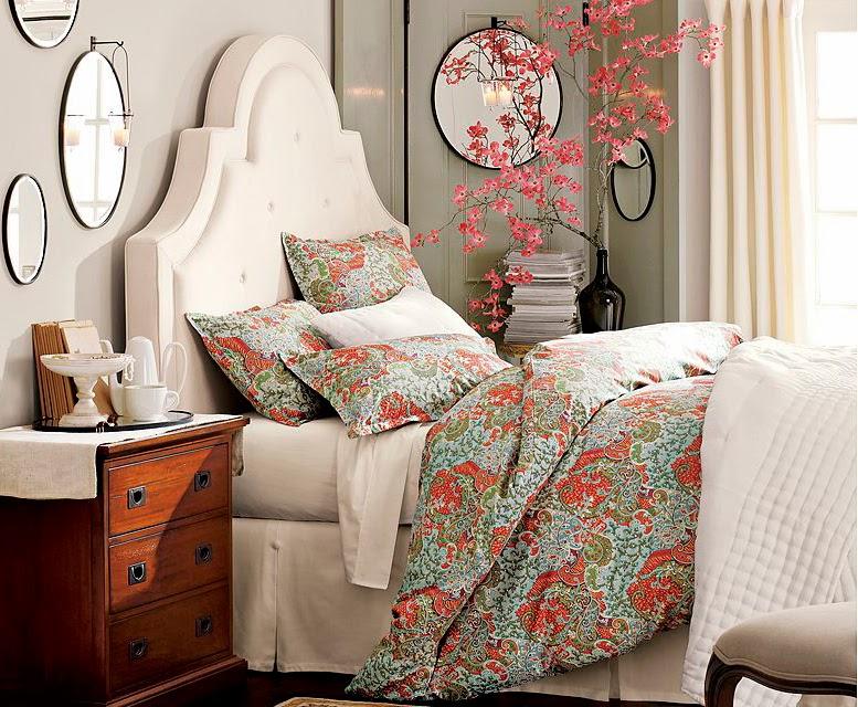 Textiles Dormitorio Primaverales