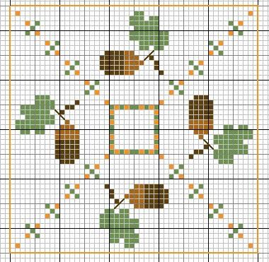 Схемы для вышивки крестом.