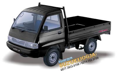 gambar suzuki carry pick up warna hitam biru putih