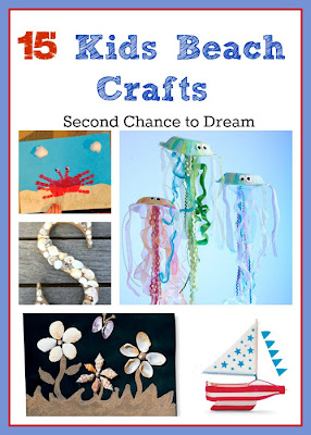 15 Kids Beach Crafts