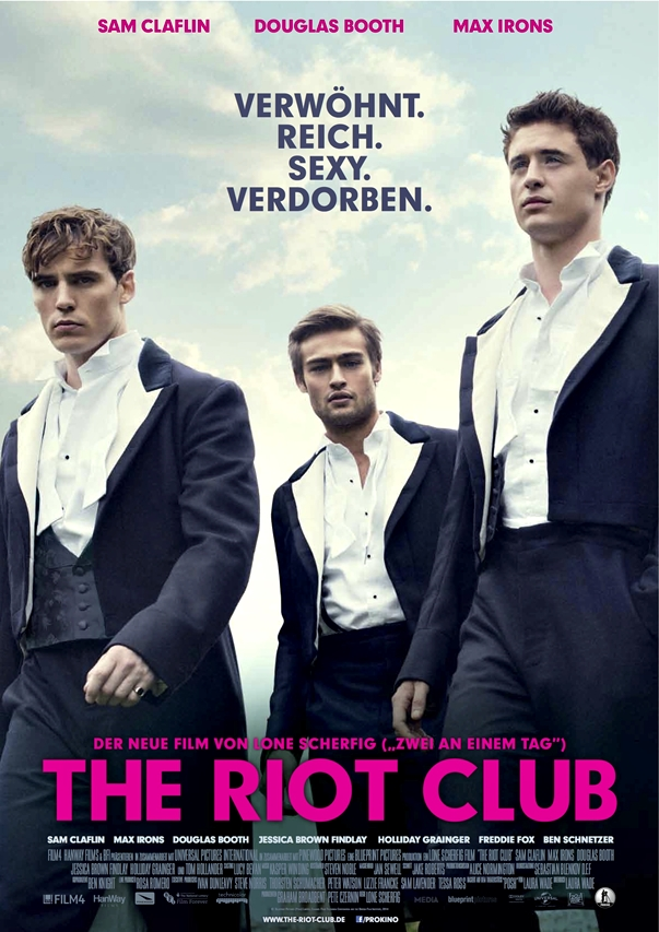 Póster: The Riot Club