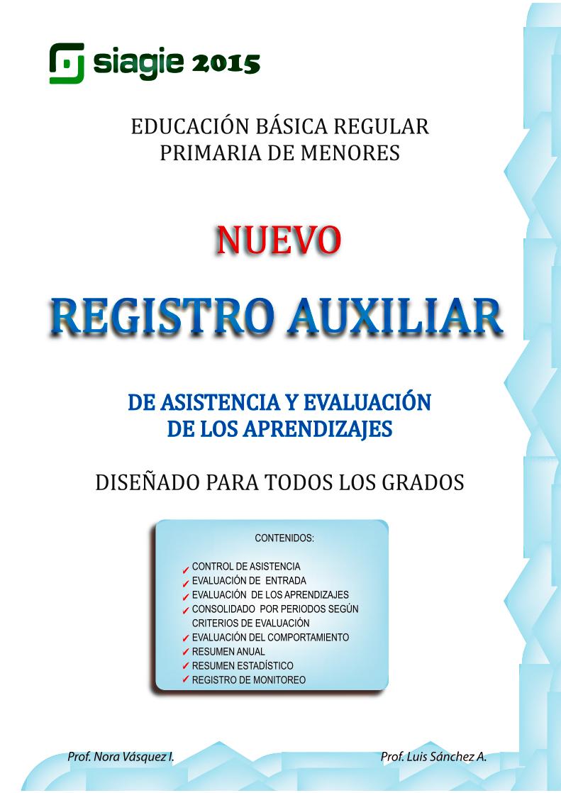 Registro de Eval- Primaria